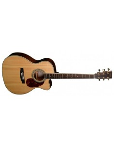 Tanglewood TH502-CH-LH Left-Handed Semi-Acoustic Guitar - PRE-LOVED: (Great Condition)