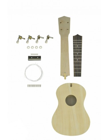 "Chord DIYUKE01 Soprano ""Self Assembly"" Ukulele"