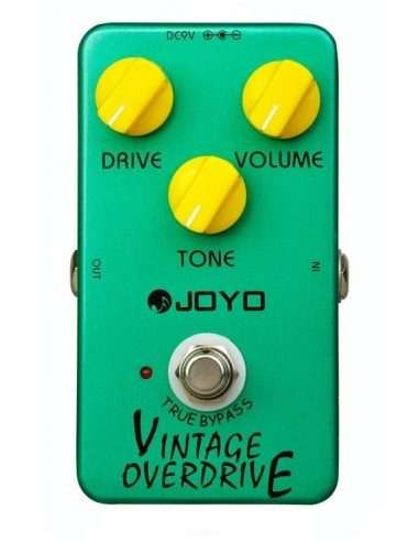 Joyo - Series I - JF-01 Vintage Overdrive Distortion Guitar Effect Pedal