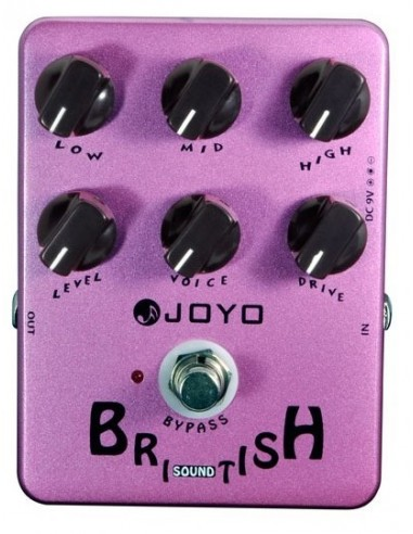 Joyo - Series I - JF-16 British Sound Emulator Guitar Effects Pedal