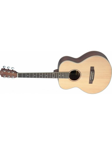 James Neligan Asyla ASY-A Mini Left-Handed Acoustic Travel Guitar