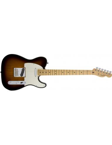 Fender American Standard Telecaster Electric Guitar - 2-Tone Sunburst - Maple Fretboard