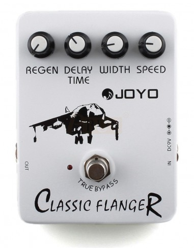 Joyo - Series I - JF-07 Classic Flanger Electric Guitar Pedal