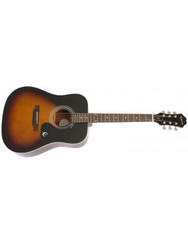 Epiphone DR-100 Dreadnought Acoustic Guitar - Vintage Sunburst