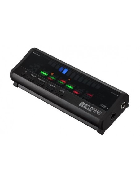Korg Pitchblack Portable Polyphonic In-Line Guitar Tuner Effect Unit