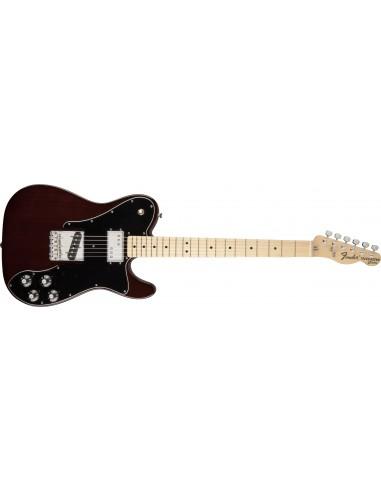 Fender Classic Series '72 Telecaster Custom Electric Guitar - FSR Walnut - Maple Fretboard