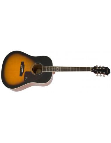 Epiphone AJ-220S Solid-Spruce Top Slope-Shoulder Dreadnought Acoustic Guitar - Vintage Sunburst