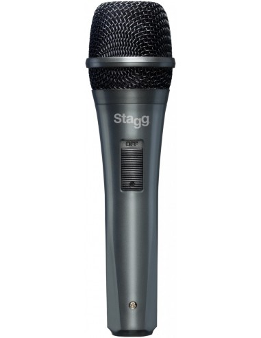 Stagg SDMP10 Plastic Cased Vocalist Dynamic Microphone