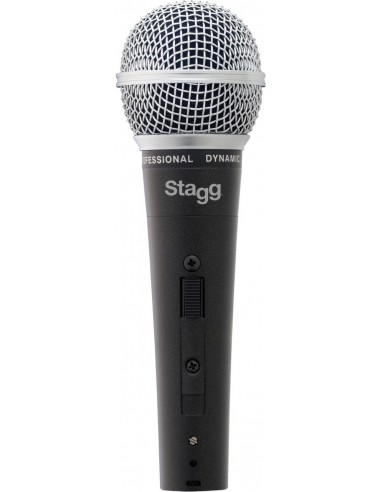 Stagg SDM50 Metal-Chassis Vocalist Dynamic Microphone