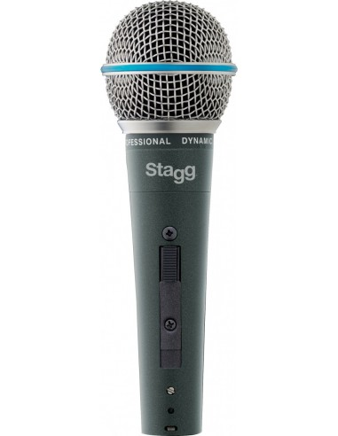 Stagg SDM60 Metal-Chassis Vocalist Premium Dynamic Microphone