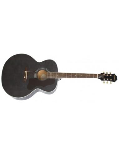 Epiphone EJ-200 Artist Jumbo Acoustic Guitar - Trans Black