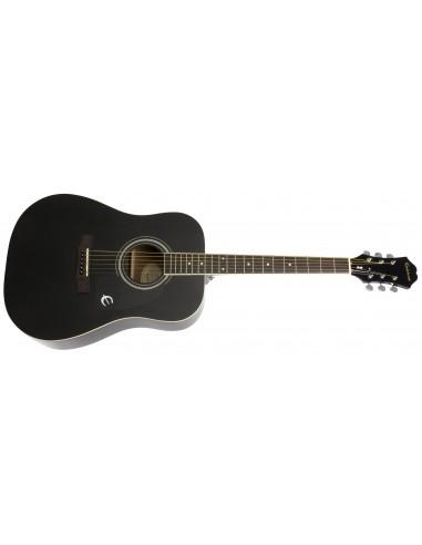 Epiphone DR-100 Acoustic Guitar - Black Ebony