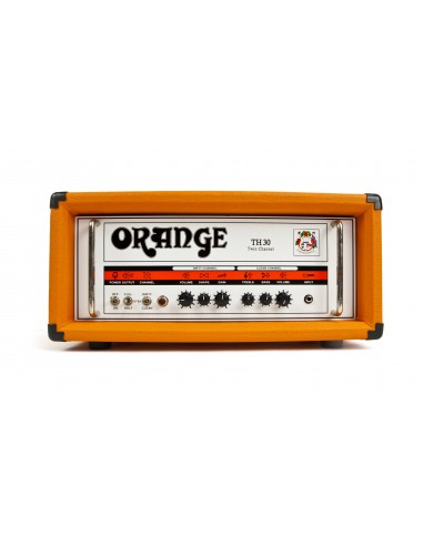 orange th30 30 watt valve head guitar amplifier. Black Bedroom Furniture Sets. Home Design Ideas