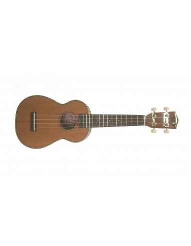 Lani LS-70WILL Solid-Spruce Top Willow Soprano Ukulele