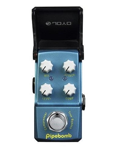 Joyo - Series III - JF-312 Pipe Bomb Compressor IronMan Guitar Effects Pedal