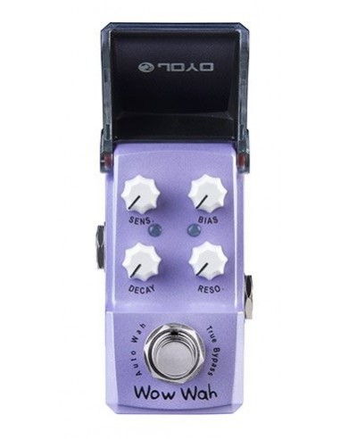 Joyo - Series III - JF-322 Wow Wah Auto Wah IronMan Guitar Effects Pedal