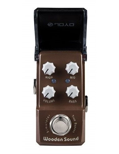 Joyo - Series III - JF-323 Wooden Sound Acoustic Simulator IronMan Guitar Effects Pedal