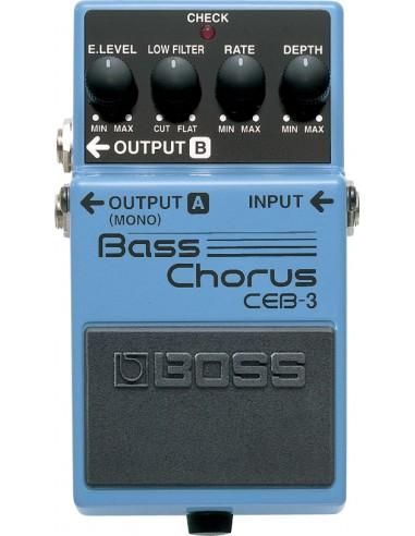 Boss CEB-3 Bass Chorus Bass Effects Pedal