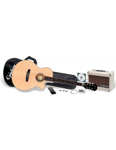 Epiphone PR4E Electro Acoustic Guitar Pack