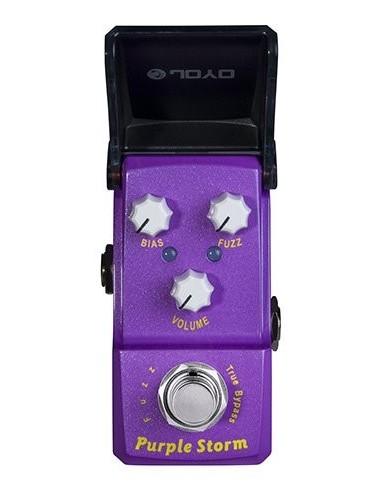 Joyo - Series III - JF-320 Purple Storm Fuzz IronMan Guitar Effects Pedal