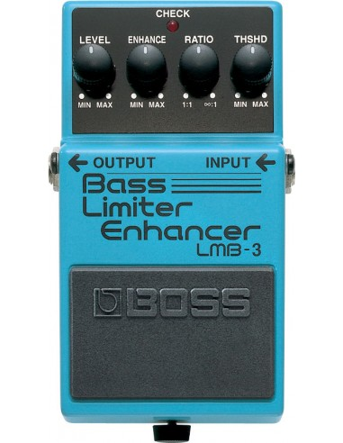 Boss LMB-3 Bass Limiter Enhancer Bass Effects Pedal