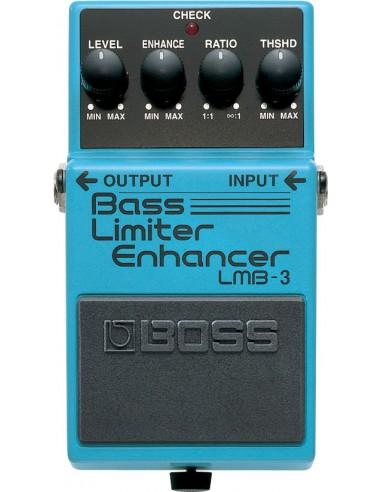Boss LMB-3 Bass Limiter Enhancer Bass Effects Pedal