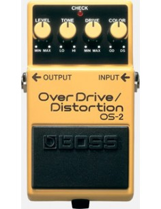 Boss OS-2 Overdrive/Distotion Guitar Effects Pedal