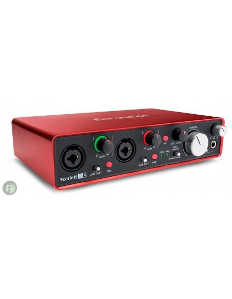 Focusrite Scarlett 2i4 (2nd Generation) USB Audio Interface