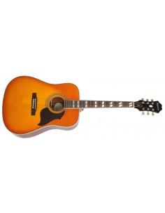 Epiphone Hummingbird Artist Dreadnought Acoustic Guitar - Honeyburst
