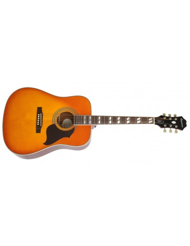 Epiphone Hummingbird Artist Dreadnought Acoustic Guitar - Honeyburst