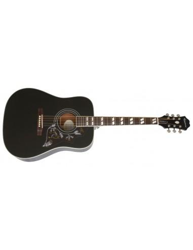 Epiphone Hummingbird Pro Electro Acoustic Guitar - Ebony