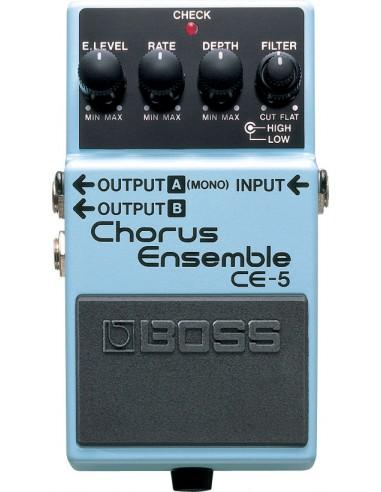 Boss CE-5 Chorus Ensemble Guitar Effects Pedal