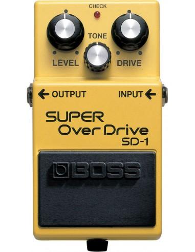 Boss Super Overdrive Guitar Effects Pedal