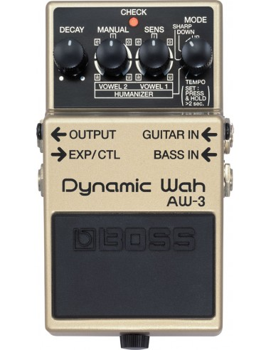 Boss AW-3 Dynamic Auto-Wah Guitar Effects Pedal