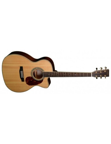 Sigma 000MC-4E Solid-Top Cutaway Electro Acoustic Guitar