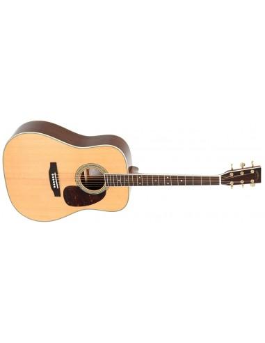 Sigma DM-4 Solid-Top Acoustic Guitar