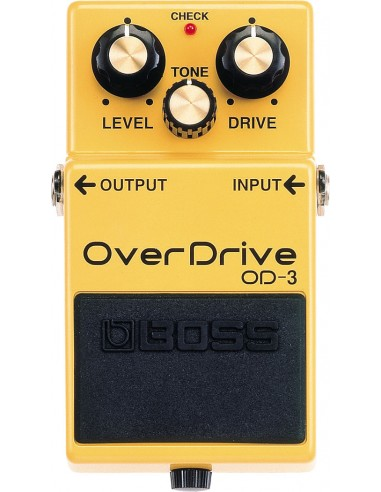 Boss Overdrive Guitar Effects Pedal