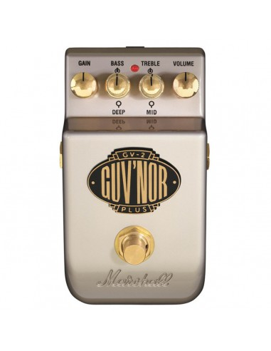 Marshall Guv'nor Plus Distortion Guitar Effects Pedal