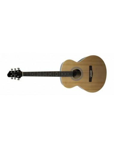 Woodstock Folk Sized Left-Handed Acoustic Guitar