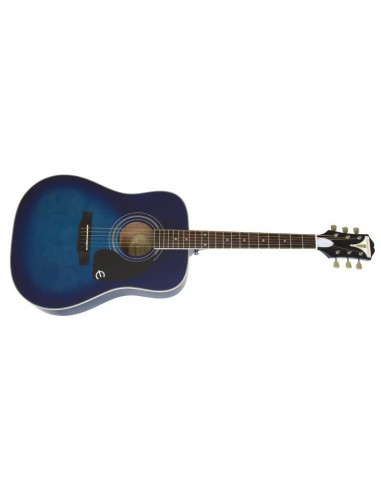 Epiphone PRO-1 Plus Short-Scale Dreadnought Acoustic Guitar - Blue