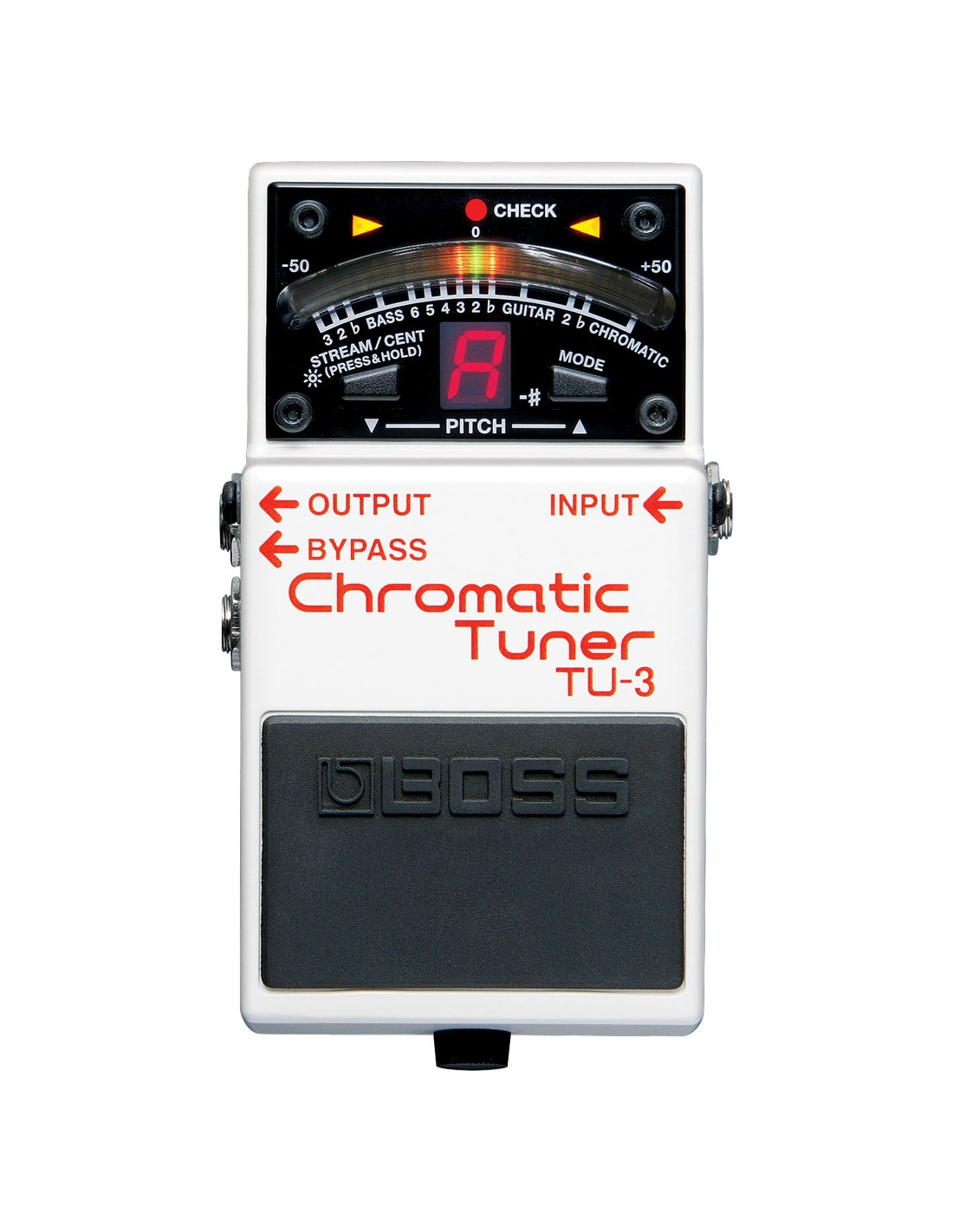 boss tu 3 chromatic tuner guitar bass effects pedal. Black Bedroom Furniture Sets. Home Design Ideas
