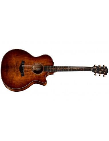 Taylor K24CE Koa 2017 Spec Grand Auditorium Electro Acoustic Guitar - Shaded Edgeburst