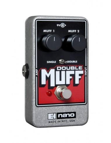 Electro Harmonix Nano Double Muff Fuzz Overdrive Guitar Effects Pedal
