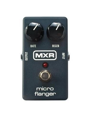 mxr by dunlop micro flanger guitar effects pedal. Black Bedroom Furniture Sets. Home Design Ideas