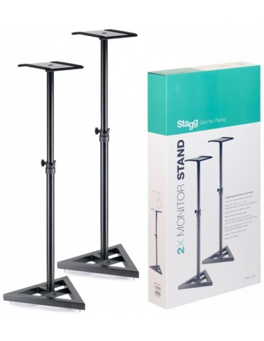 Stagg SMOS-10 Studio Monitor Stands (Pair)