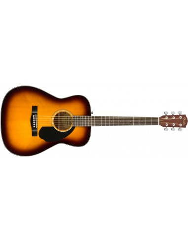 Fender CC60S Acoustic Guitar - 3-Tone Sunburst