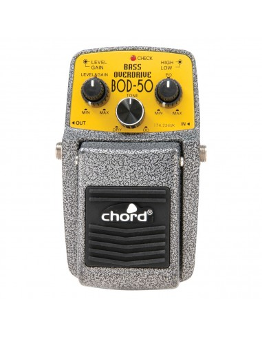 Chord BOD-50 Overdrive Bas Guitar Effects Pedal