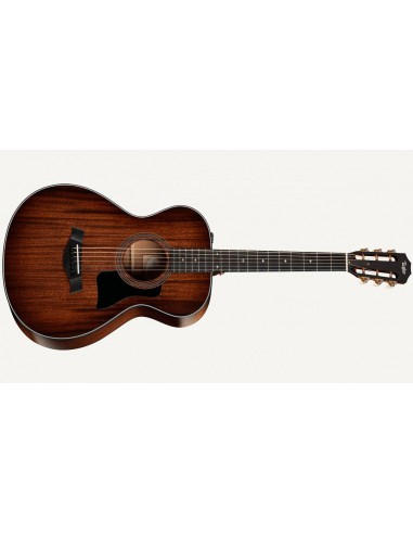Taylor 322E 12-Fret Mahogany Grand Concert 2017-edition Electro Acoustic Guitar ES:2 Shaded Edgeburst