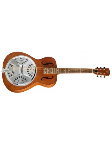 "Epiphone Dobro ""Hound Dog"" Round Neck Resonator Guitar"