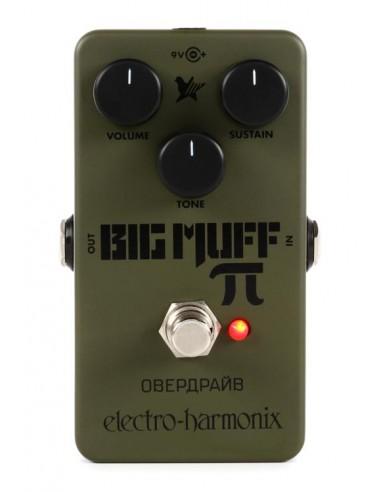 Electro Harmonix Green Russian Big Muff Pi Guitar Effects Pedal